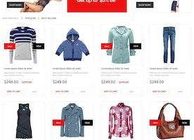 10 Free E-commerce Themes for PrestaShop