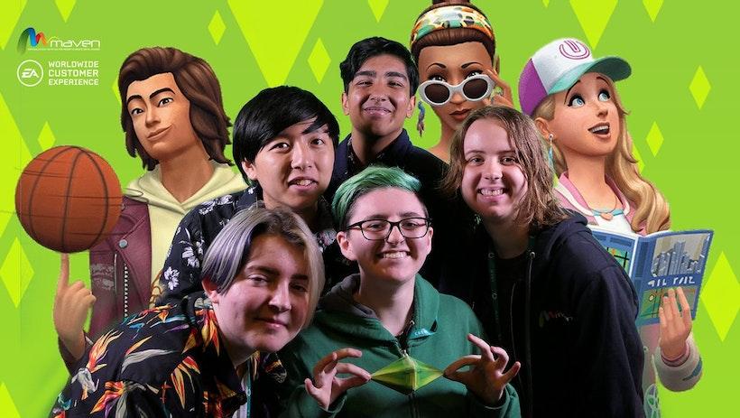 EA Austin x Maven Youth Tech Camp