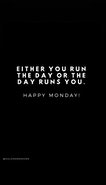 Heading into Monday here is Australia - Get your mindset Right