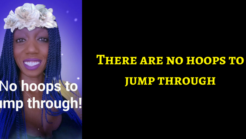 There Are No Hoops To Jump Through, No Gatekeepers! If You Want To Win, Then Win!
