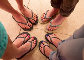 Her Own Two Feet: Sandals Building Peace by Tackling Terrorism at its Roots