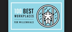 #1 on Best Workplaces for Millennials - BOOM!