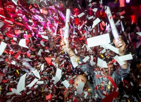 Let's Do It Again: Relive the music, dancing, and confetti from our #CrowdtapRev party in Austin