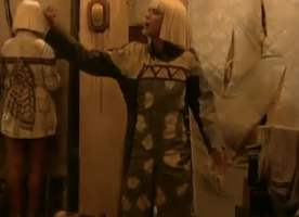 Kristen Wiig's Sia Dance Made the GRAMMYs Just That Much Better