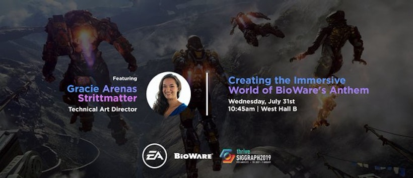 EA is coming to SIGGRAPH