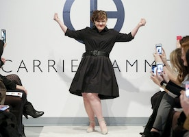 "[UPDATED] ""American Horror Story"" Actress Jamie Brewer Models at New York Fashion Week"