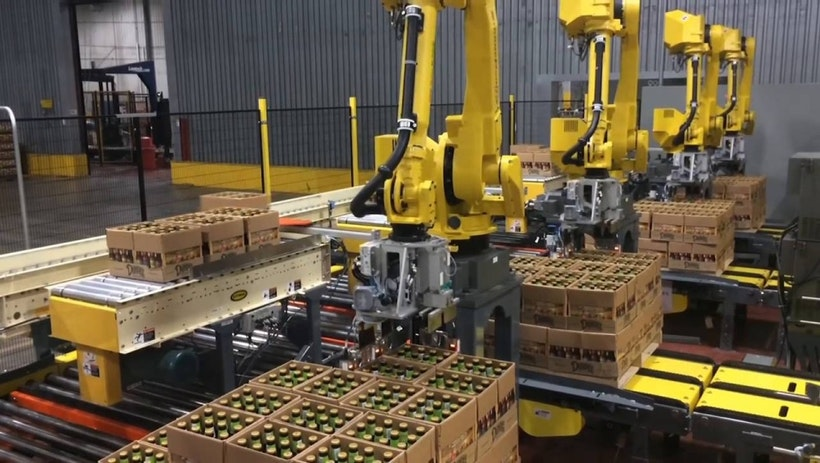How Palletizing Will Organize Your Manufacture