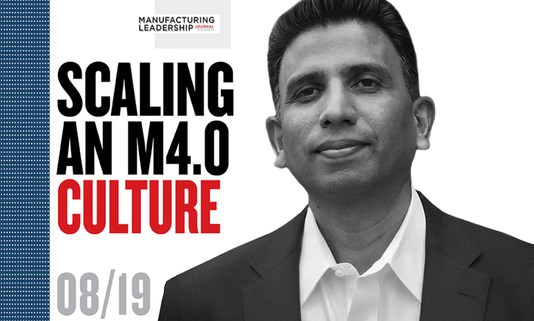Scaling an M4.0 Culture