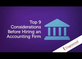 Top 9 considerations Before Hiring an Accounting Firm