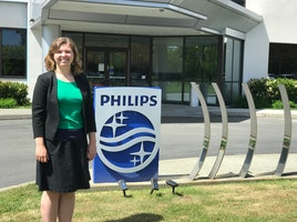 From an intern to a full time Philips employee