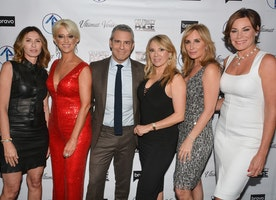 Spotted: Several Of The #RHONY Ladies Celebrating Their New Season