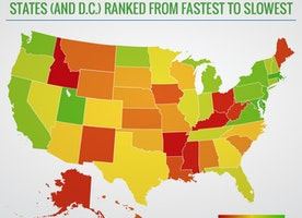 How Slow is the Internet in Your State? [MAP]