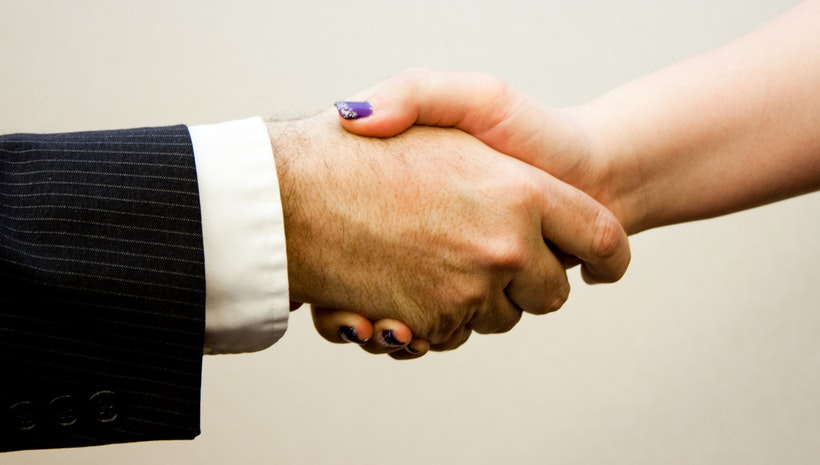 The Power of a Handshake
