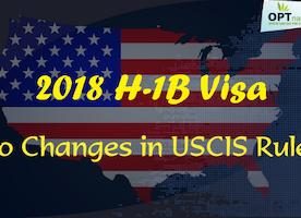 H1B Visa Application 2018, No Major Trump Changes in H-1B Visa