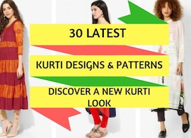30 Latest Kurti Designs Patterns: Discover A New Kurti Look - Ferri