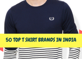 50 Best T Shirt Brands In India: Pick Your One's - Ferri