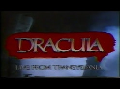 Dracula Live From Transylvania (1989) [FULL]