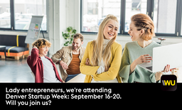 #JoinWU at Denver Startup Week 2019.