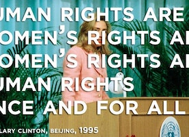 #TBT Hillary Clinton Fighting for Women's Rights!