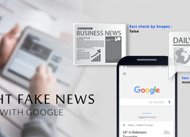 Fight Fake News With Google