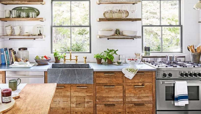 Kitchen Decorating Ideas: Using Faucets & Furniture