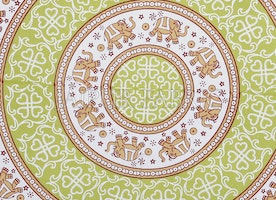 Single bedsheet having Mandala print is a perfect gift