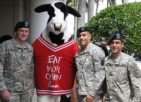 Chick-fil-A Gets Feathers Rustled With Abducted Cow Costumes