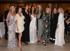Spotted: Chelsea Clinton, Mary-Kate & Ashley Olsen, Nicky Hilton, Woody Allen, & More At The Youth America Grand Prix Gala