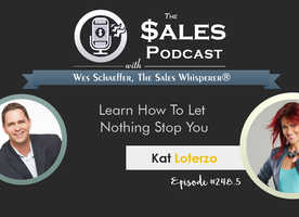 Learn How To Let Nothing Stop You With Kat Loterzo