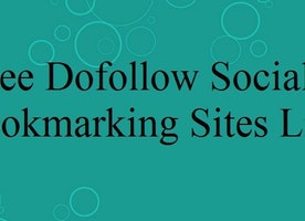 50+ Latest Social Bookmarking Sites List 2017