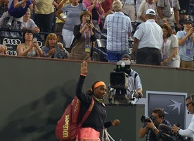 Serena Williams received standing ovation, fought tears and won while ending 14-year boycott at Indian Wells