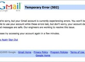 "How To Check ""Gmail Down"" Status ? - Down reporter"