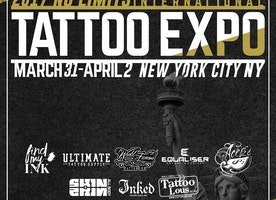 2017 UNITED INK NO LIMITS INTERNATIONAL TATTOO EXPO  AT RESORTS WORLD CASINO  NYC  MARCH 31ST - APRIL 2ND