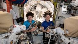 NASA reaches milestone with first all-female spacewalk