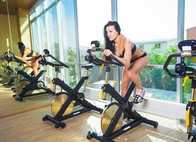 Benefits of workout on a spinning cycle