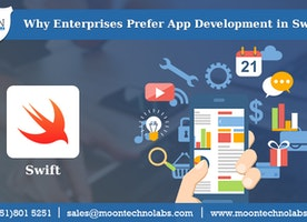 6 reasons why your enterprise should go for Swift App Development - Moon Technolabs