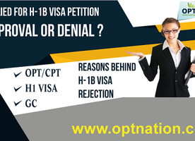 Reasons for H1B Rejection | Why H1B Visa gets Denied? | OPTNation