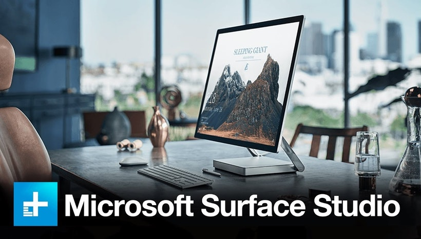 Apple's iMac Competitor Is Finally Here! - The All-In-One Surface Studio From Microsoft