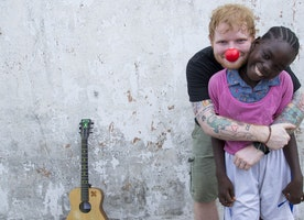 Ed Sheeran Goes To Liberia With Red Nose Day