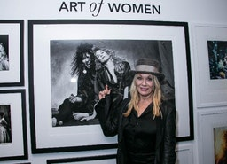 "Nancy Wilson of Heart, Photographer Timothy White and Julian Lennon Celebrated The Opening of ""The Art Of Women"" at Morrison Hotel Gallery in West Hollywood Last Night"
