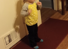 This Little Girl Has Sass when it comes to standing up against curse words. Too too cute.