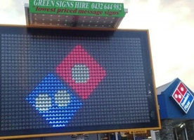 Use LED signs to improve your brand visibility