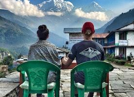 Ghorepani poon hill Trekking in Nepal 2017