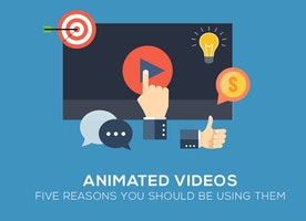 Animated Videos: Five Reasons You Should Be Using Them