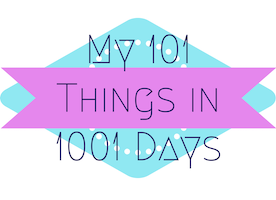 372 Days Down: Update on My 101 Things to do in 1001 Days