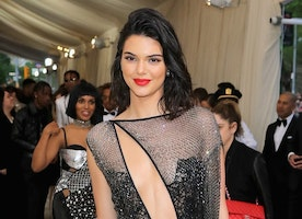 Spotted: Kendall Jenner At The 2017 Met Gala Clad In La Perla Haute Couture