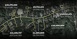 Billionaires Row: London's street of money and mystery