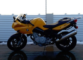 Yellow Motorcycle Paint Fiasco