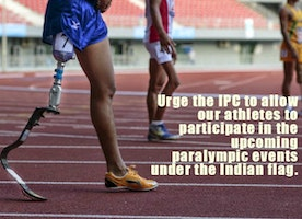 A ban on India's Paralympic Committee by the international body leaves athletes in the lurch