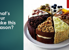 What's your cake this season?